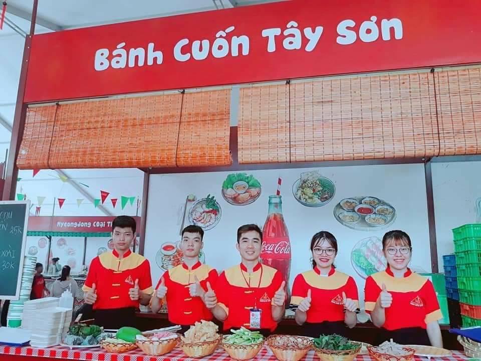 Bánh cuốn Tây Sơn tham gia hội chợ xúc tiến tiêu dùng sở công thương
