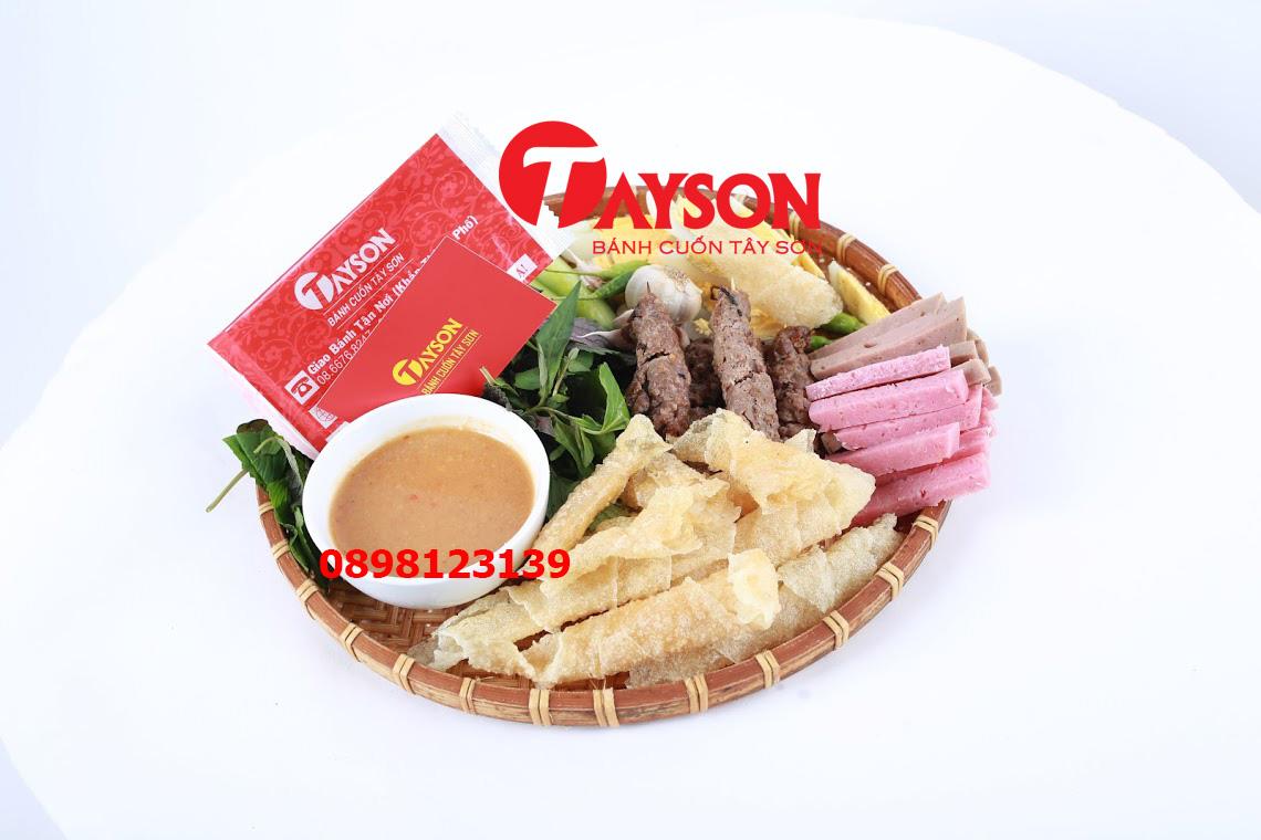 PHẦN Bánh Cuốn Tây Sơn Tự Cuốn Lớn- Thịt Lụi Heo