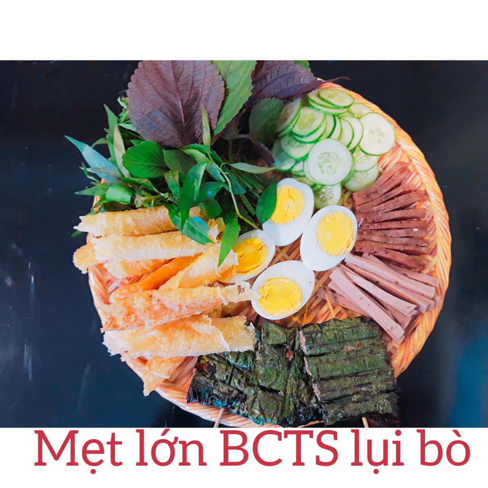 Mẹt lớn Bánh Cuốn Tây Sơn lụi bò